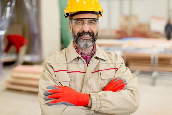 肖像 エンジニア 工場 男 業界 ストックフォト © boggy