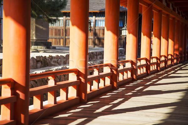 Itsukushima Shrine at Miyajima island, Japan Stock photo © boggy