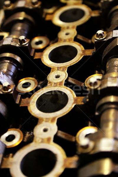 Auto motore no descrizione industriali interni Foto d'archivio © boggy