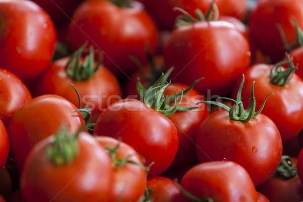 Tomaten vers markt Rood plant tomaat Stockfoto © boggy