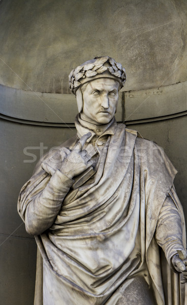 Dante Allighieri monument in Florence Stock photo © boggy