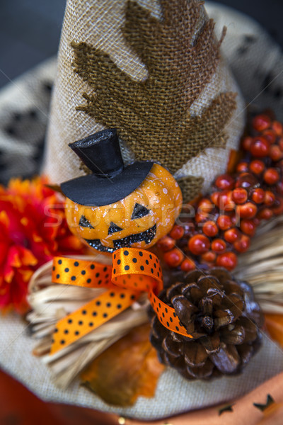 Helloween decoration Stock photo © boggy