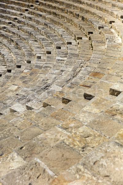 Ancient Curium amphitheatre in Kourion, Cyprus Stock photo © boggy