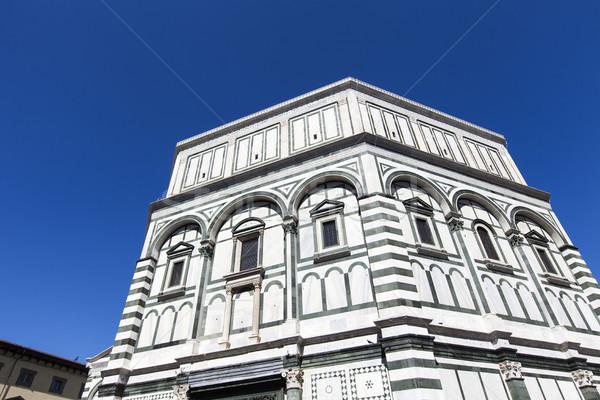 Florence pormenor céu edifício cidade viajar Foto stock © boggy