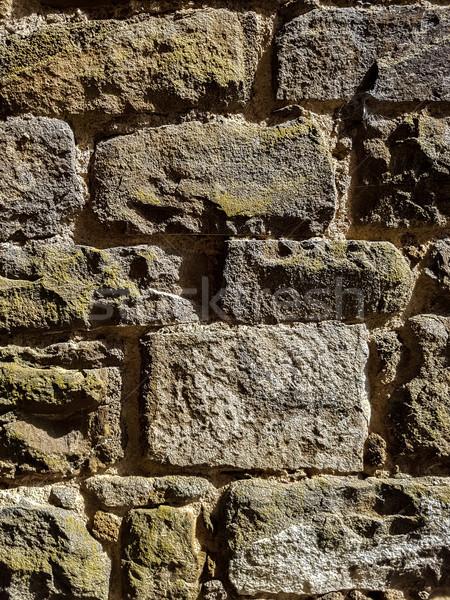 Detay taş duvar eski bağbozumu doku inşaat Stok fotoğraf © boggy