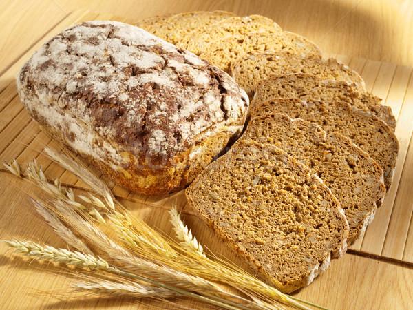 Pane grano tavola alimentare Foto d'archivio © bogumil