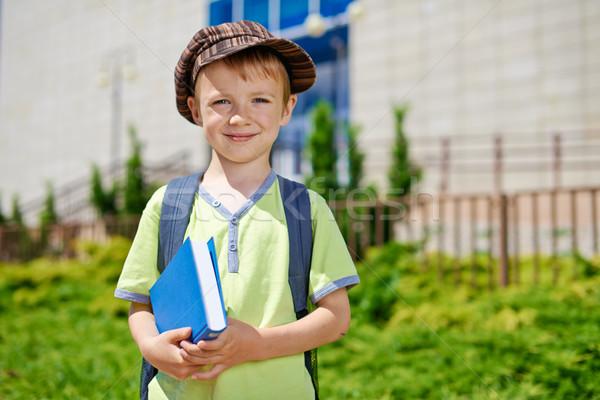 Сток-фото: первый · день · школы · молодые · Cute