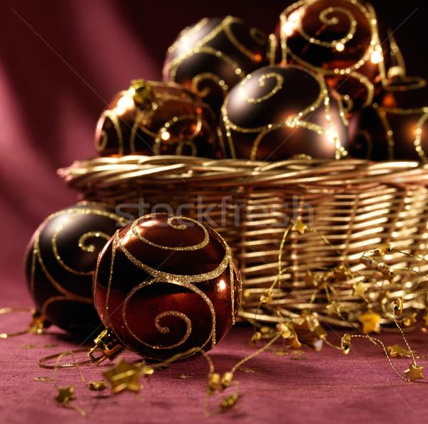 Bella Natale party amore Foto d'archivio © bogumil