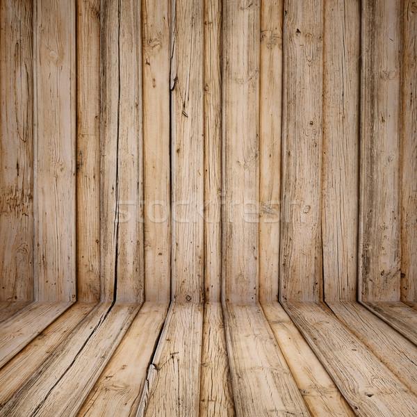 Foto stock: Velho · vintage · interior · textura · árvore