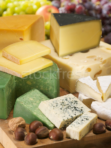 Conjunto diferente laticínio coleção saboroso Foto stock © bogumil
