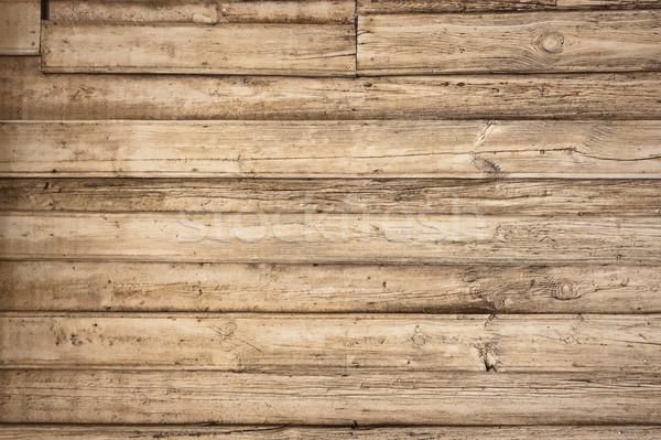 Oude vintage houten horizontaal boom muur Stockfoto © bogumil