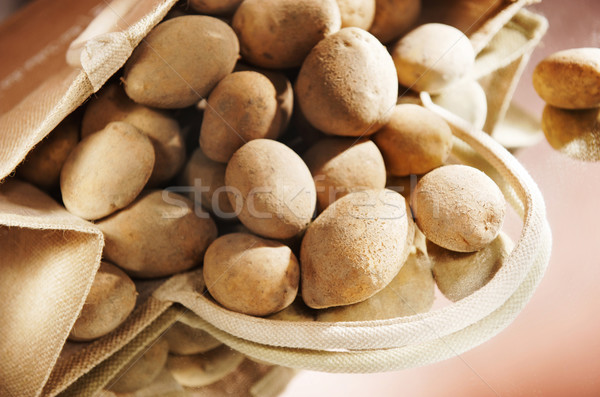 çanta patates gıda toprak yeme Stok fotoğraf © bogumil