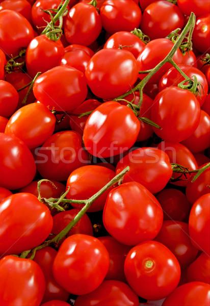 Beaucoup fraîches tomates santé rouge marché Photo stock © bogumil