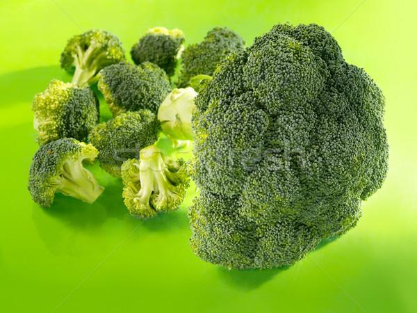 Brocoli vert fond tête usine manger Photo stock © bogumil