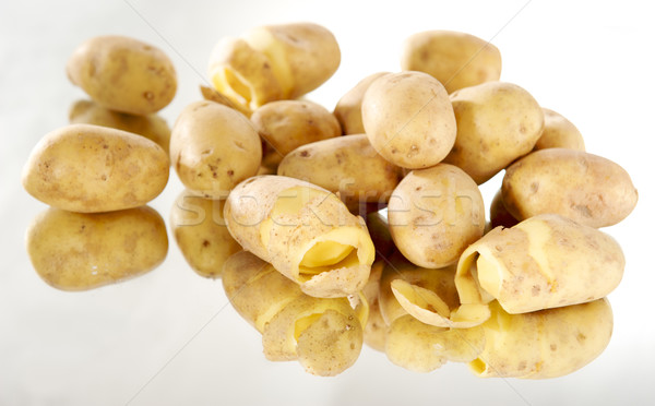 Yalıtılmış patates gıda sağlık toprak Stok fotoğraf © bogumil