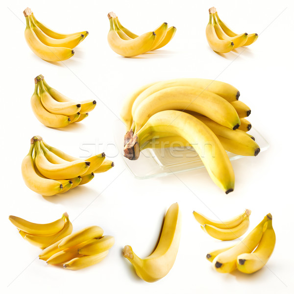 Bananas collection Stock photo © bogumil