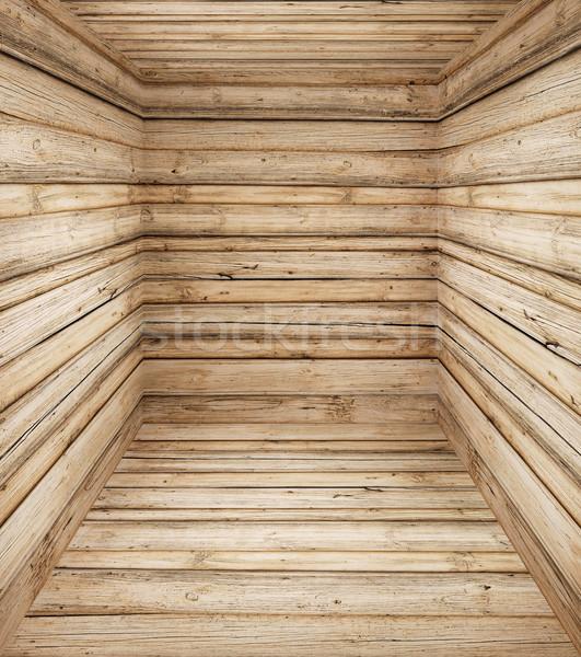 Velho profundo interior textura árvore Foto stock © bogumil