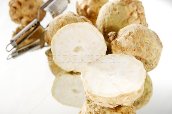 Kesmek gıda doğa sağlık grup pazar Stok fotoğraf © bogumil