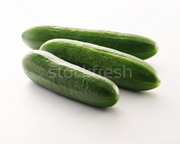 Cucumbers isolated on white background Stock photo © bogumil