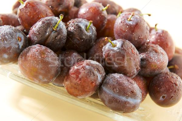 Umido piatto alimentare frutta frutti Foto d'archivio © bogumil