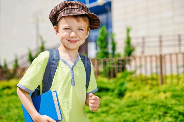 école jeunes Kid heureux enfant Photo stock © bogumil