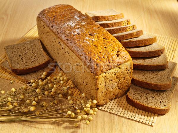Pão tabela comida Foto stock © bogumil