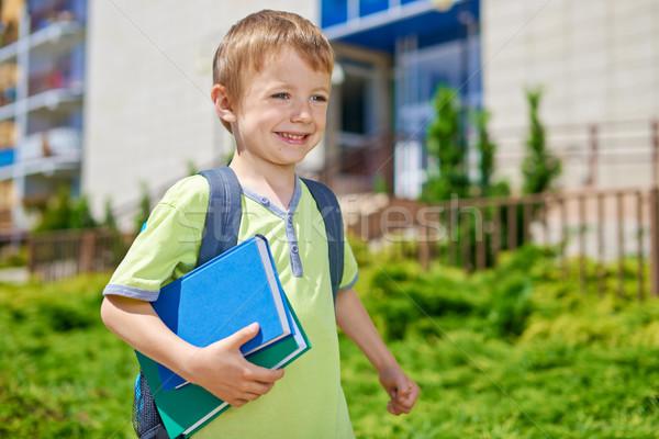Сток-фото: первый · день · школы · молодые