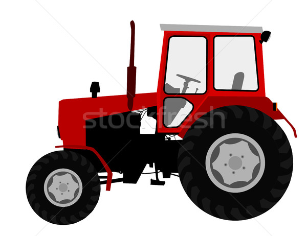 Agricultural tractor, farm vehicle Stock photo © bokica