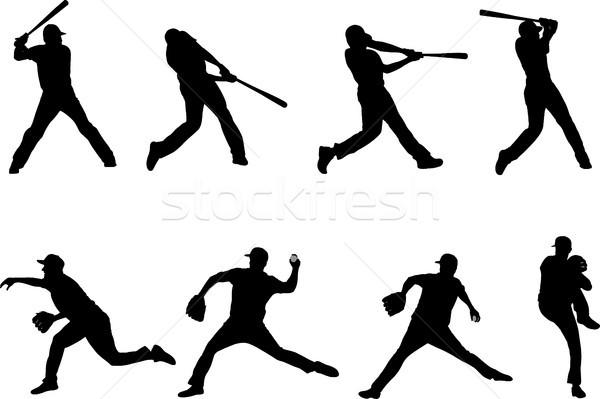 бейсбольной коллекция спорт здоровья команда Сток-фото © bokica