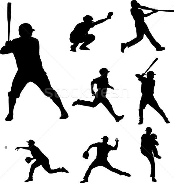 бейсбольной коллекция весело команда мяча Сток-фото © bokica