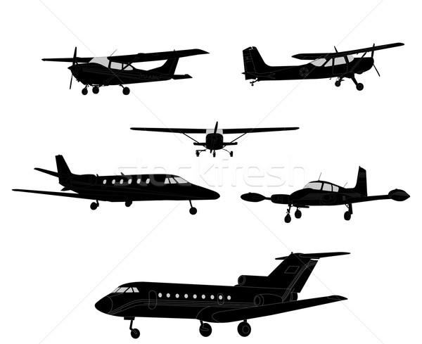 самолет свет ретро Vintage воздуха Сток-фото © bokica