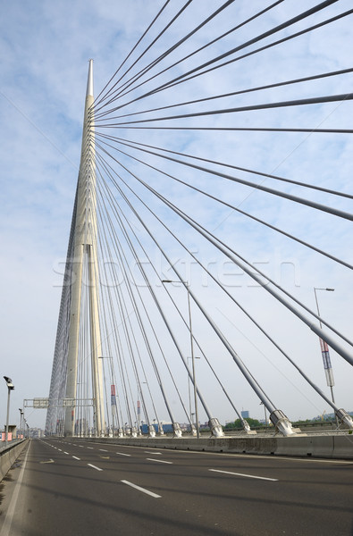 Ponte cidade luz projeto viajar cabo Foto stock © bokica