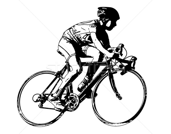 race bicyclist Stock photo © bokica