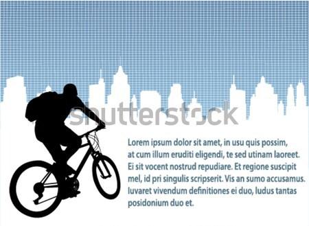 Abstract stedelijke stad sport lichaam Stockfoto © bokica