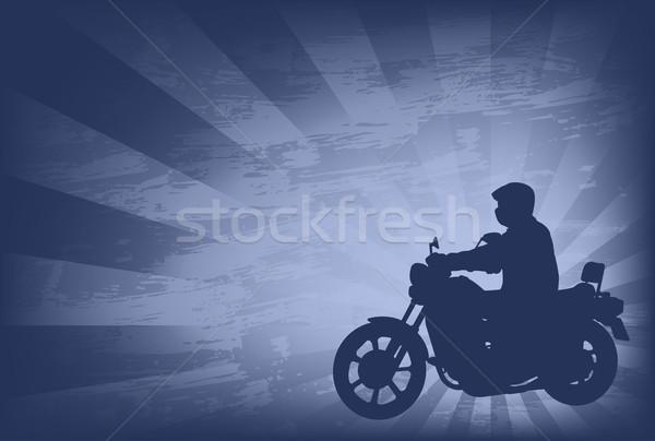 аннотация человека спорт фон пространстве скорости Сток-фото © bokica