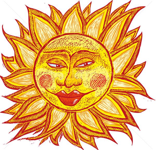 Grasa edad sol italiano antigua Foto stock © bonathos