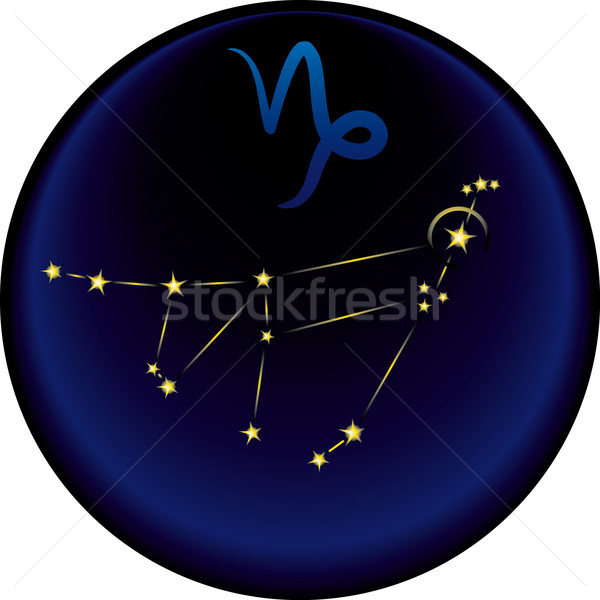 Zodiac Capricorn Sign  Stock photo © bonathos