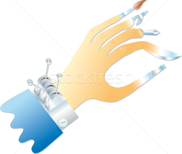 Multifunction hand   Stock photo © bonathos
