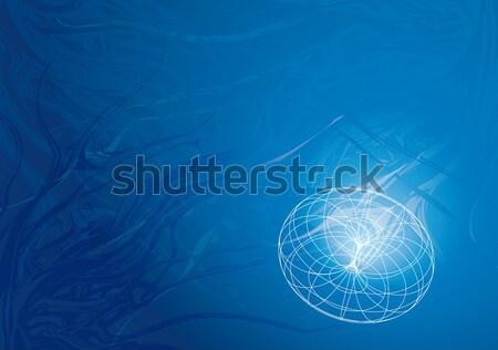 подводного синий Черно-белые технической вкус аннотация Сток-фото © bonathos