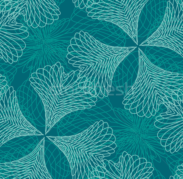 Seamless filigree pattern  Stock photo © bonathos