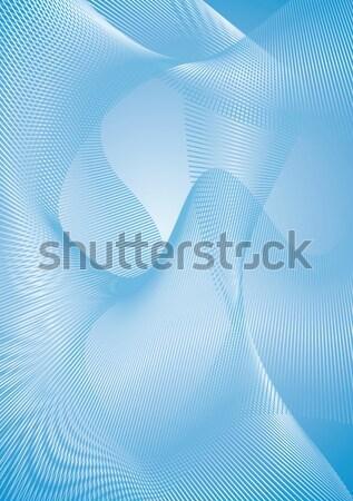 сетке фон экране энергии вектора иллюстрация Сток-фото © bonathos