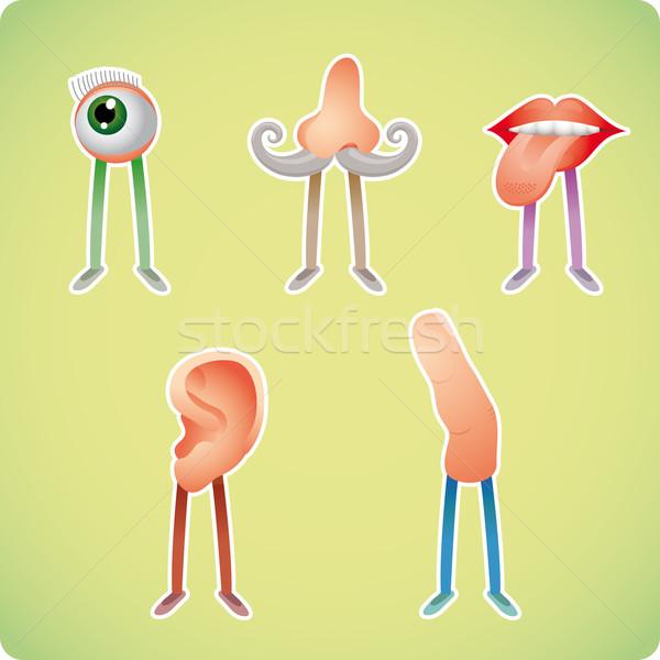 öt emberi stílusok kommunikáció Stock fotó © bonathos