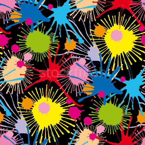 シームレス パターン 芸術 ストックフォト © bonathos