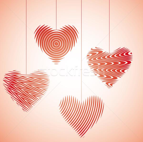 Heart dance IV Stock photo © bonathos