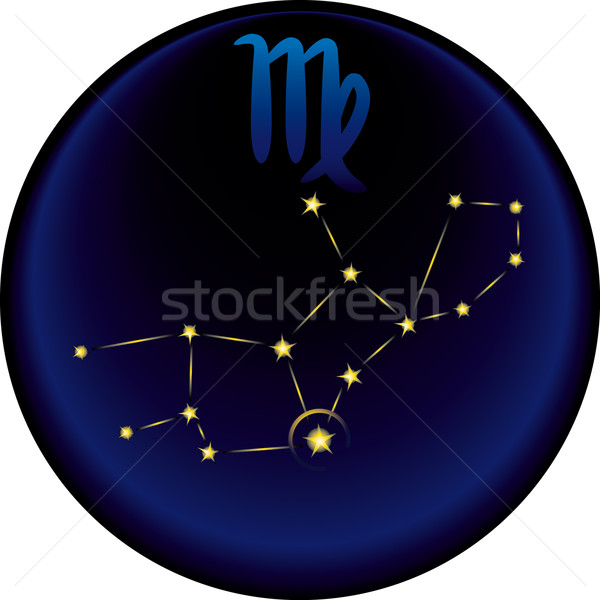 Stock photo: Zodiac Virgo Sign