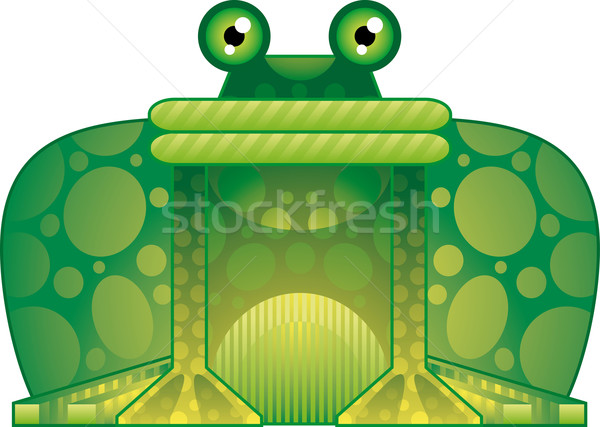 Colorful frog	  Stock photo © bonathos