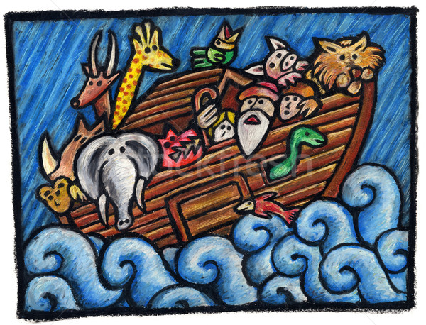 Noah's Ark Stock photo © bonathos