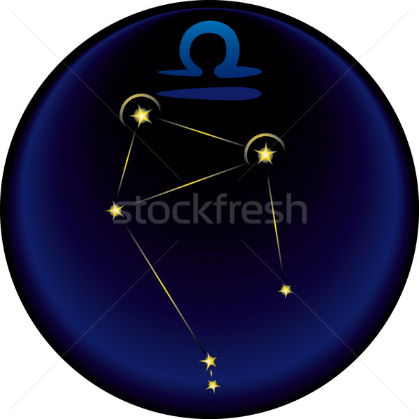 Zodiac Libra Sign	   Stock photo © bonathos