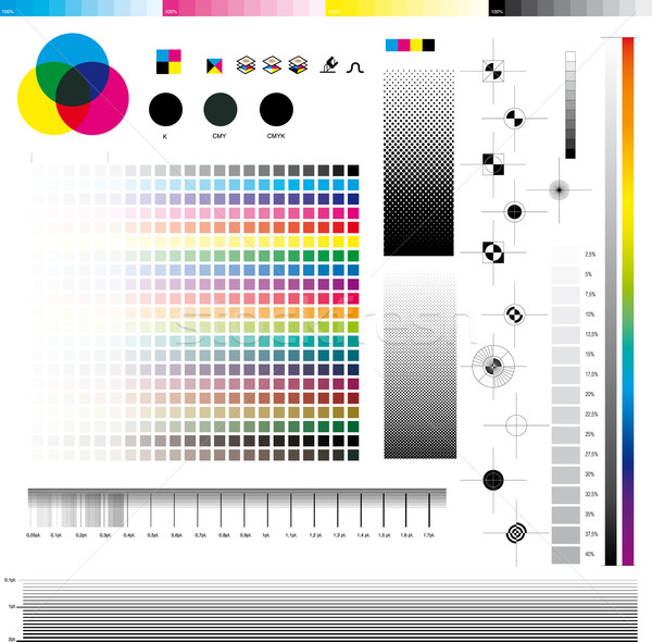 Cmyk Print utilities  Stock photo © bonathos