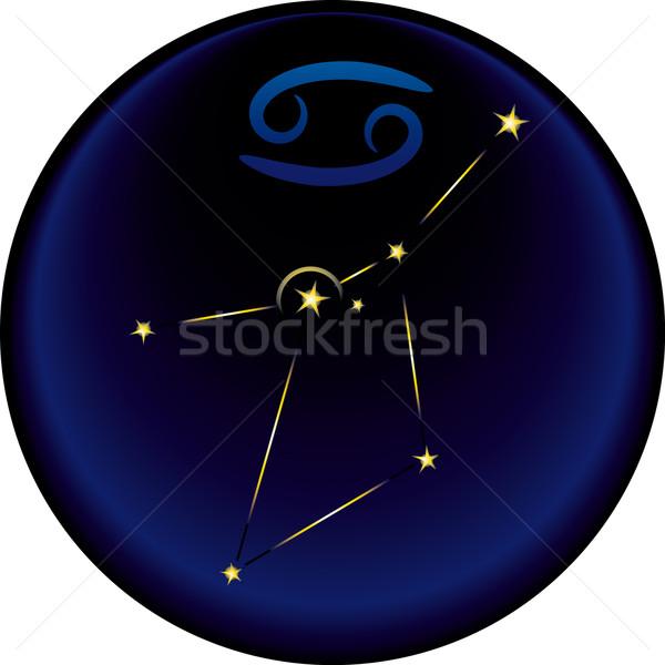 Zodiac Cancer Sign  Stock photo © bonathos